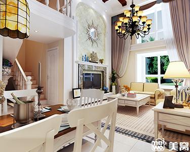 180平米 loft 美式风格 装修效果图 -「万豪美墅城」