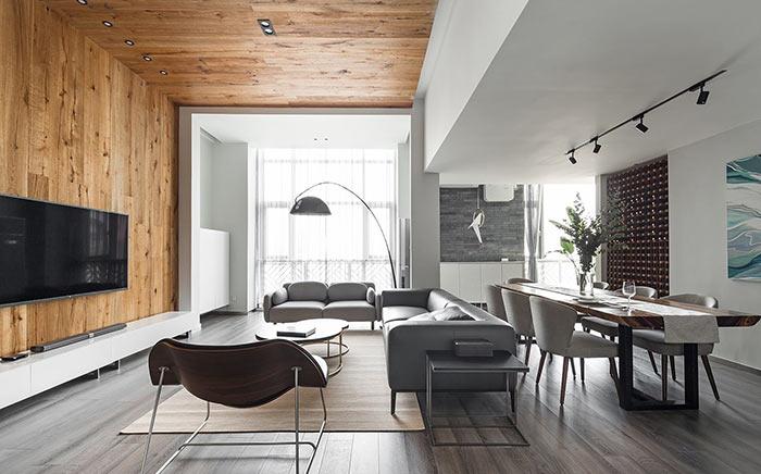 馥室成双北欧风格 loft户型案例