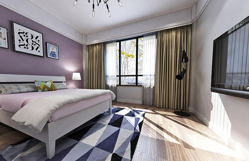 中贸府·牡丹园-卧室现代简约风格-国美美窝装饰