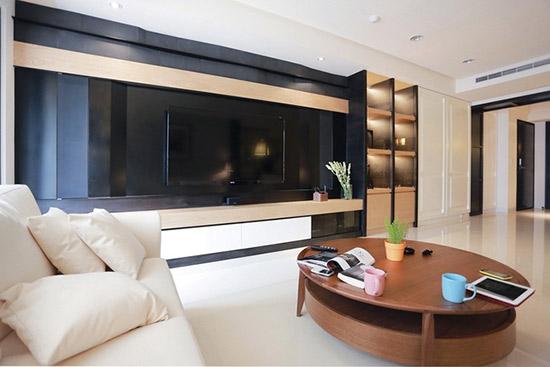 电视背景墙_美式风格效果图